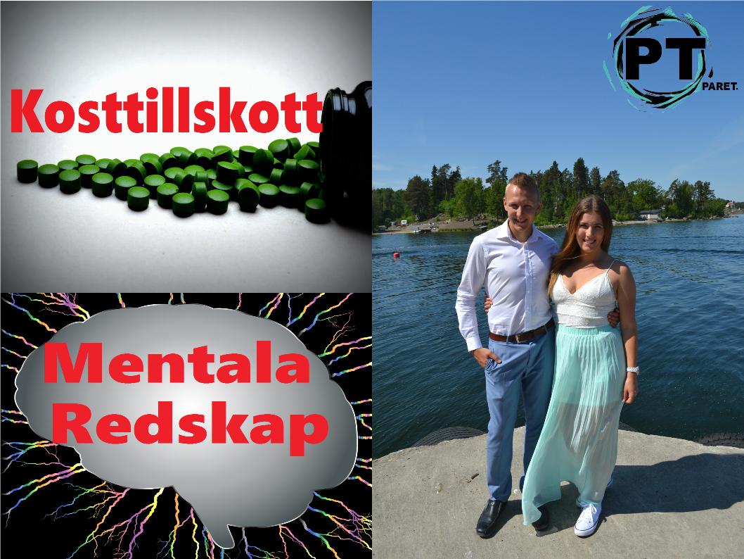 UPPDATERING: Mentala Redskap och Kosttillskott!