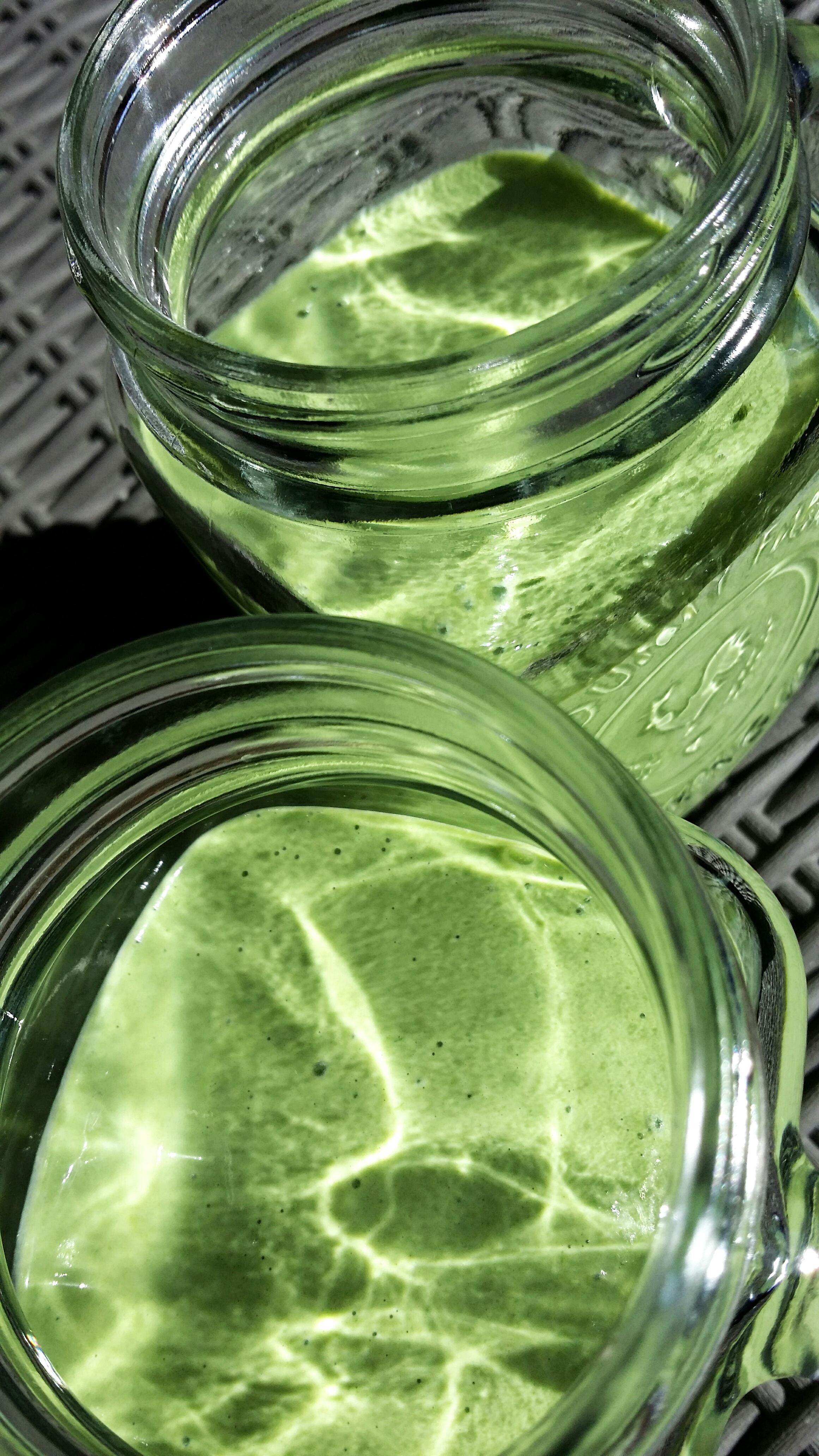 Grön smoothie med ingefära!