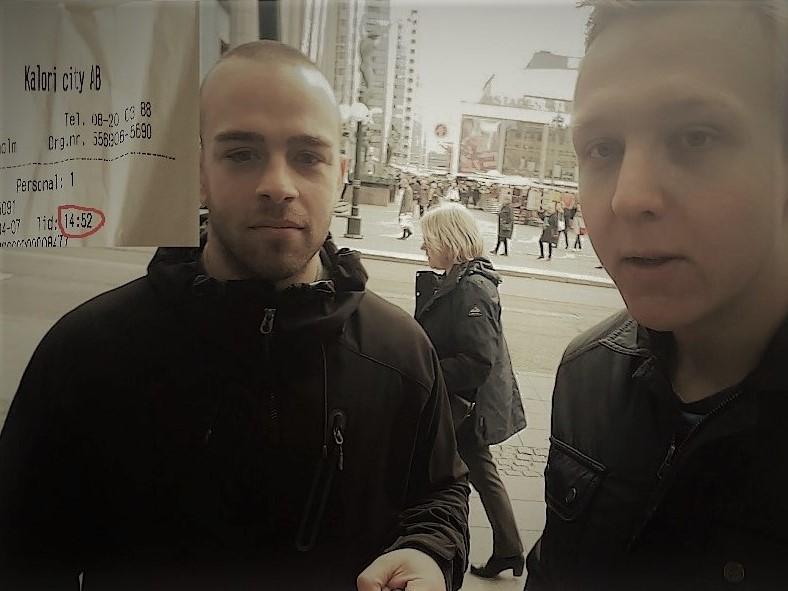 Robin och Jesper möter Terrorn i Stockholm [Video]