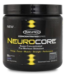 pre-workout neurocore