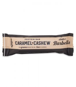 Barbells Caramel & Cashew